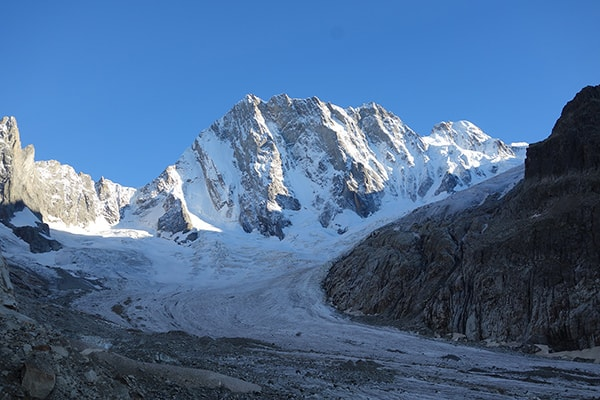 alpes grandes jorasses
