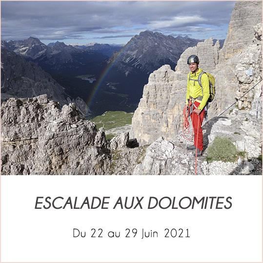 escalada en las dolomitas