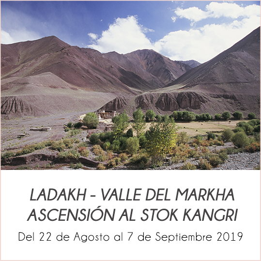 valle del markha y ascension al stok kangri 6153m ladakh