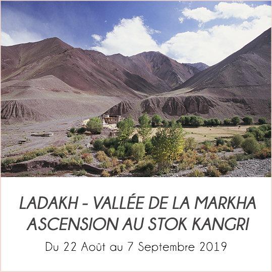 LA VALLÉE DE LA MARKHA ET ASCENSION AU STOK KANGRI (6153M) LADAKH