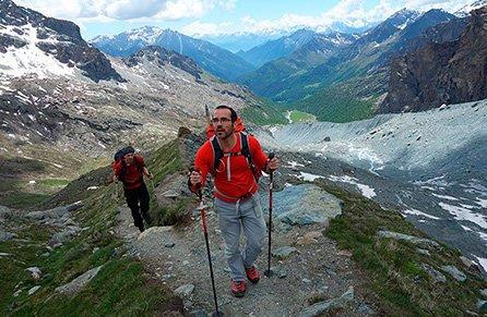 trekking en grupo