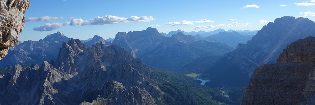 panoramica dolomitas paisaje