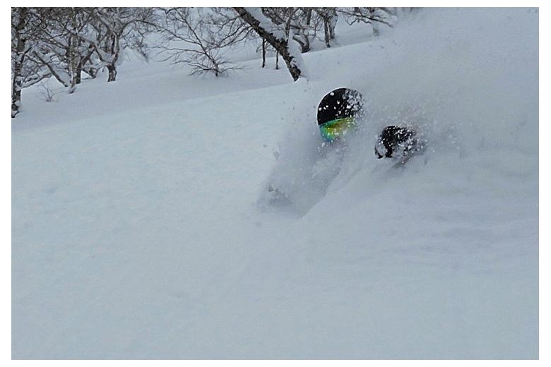 Japan Hokkaido powder snow - photo Alfonso Gastón