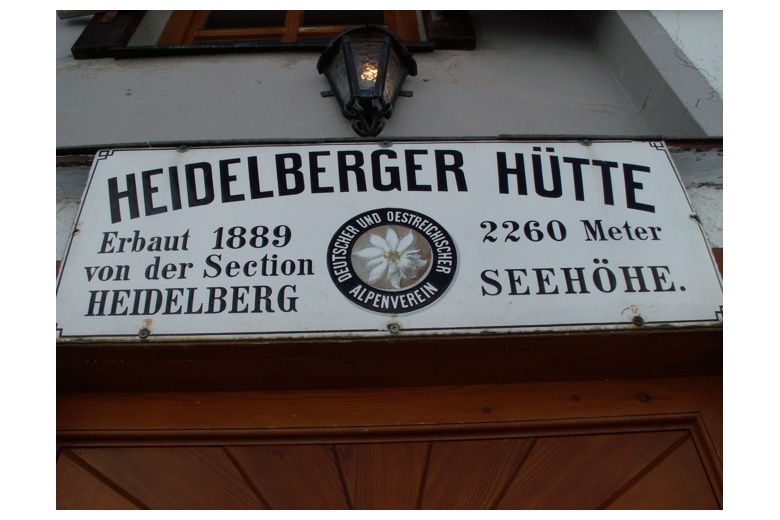 placa del refugio heidelberger