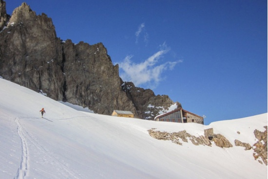 HIGH ROUTE IN THE ECRINS